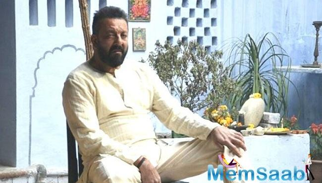 'Bhoomi' trailer has been launched to coincide with Sanjay Dutt's daughter Trishala's birthday today.