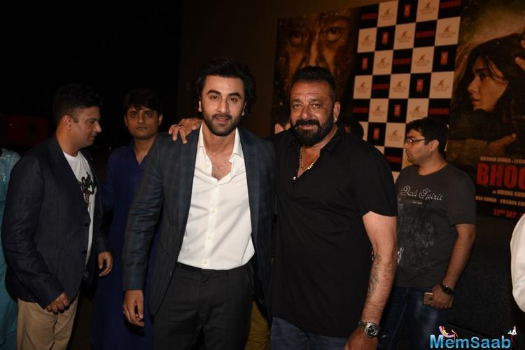 When Dutt was asked if making a comeback with 'Munna Bhai 3' would've been a better decision, filmmaker Vidhu Vinod Chopra said the makers are still writing it.