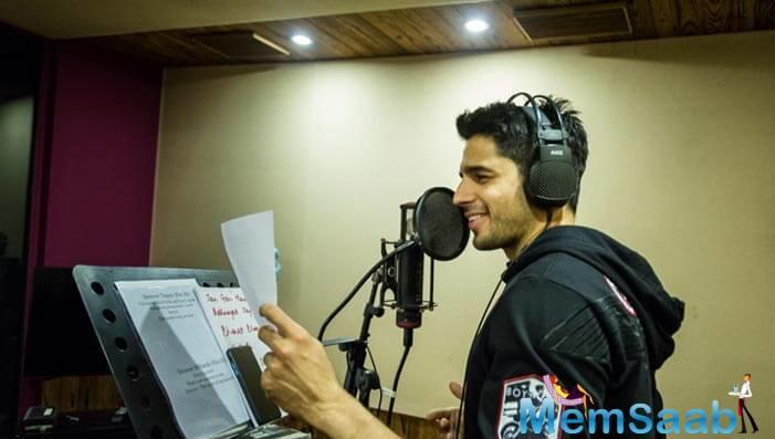 The composer duo Sachin and Jigar had observed the actor's voice and found it perfect for the rap.