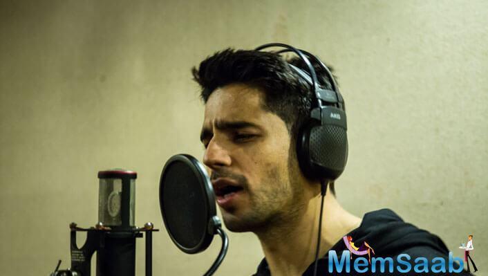 The song was recorded at Shankar Mahadevan's suburban studio with composer-singer duo Sachin- Jigar on Thursday.