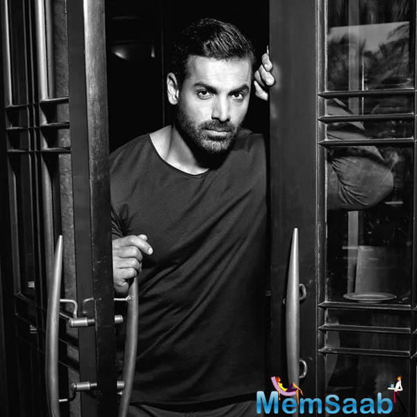 John Abraham, who plays the lead in the film and is also the co-producer the film.