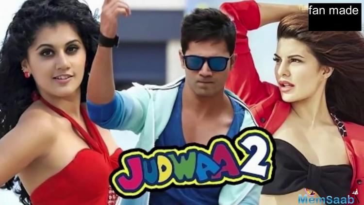 The makers had earlier revealed that 'Judwaa 2' trailer will be out on August 21.