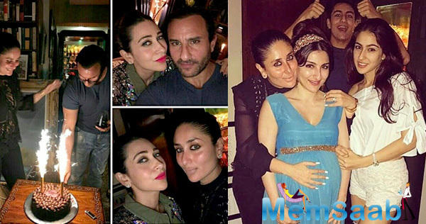 Kapoor sisters- Karisma and Kareena made sure that the celebration was a beautiful one!