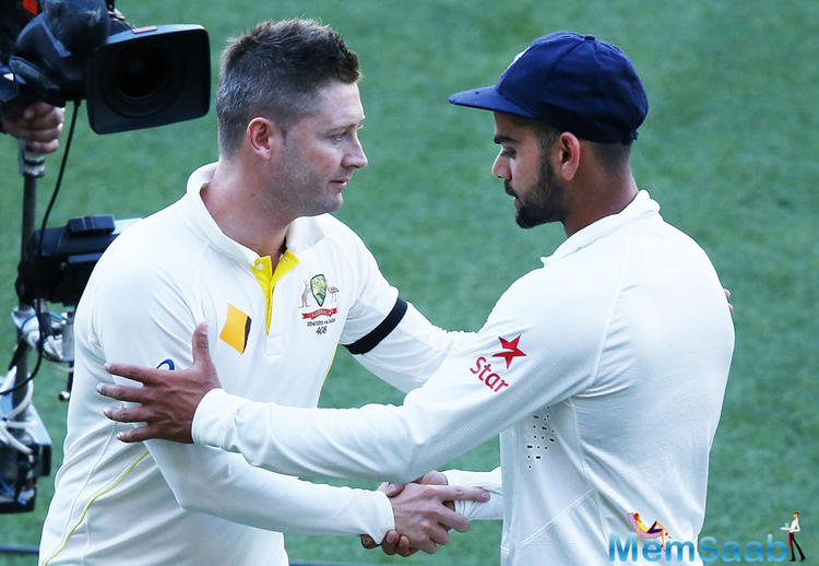 However, Kohli had received a lot of criticism from the Australian media during the Border-Gavaskar Trophy, earlier in 2017.