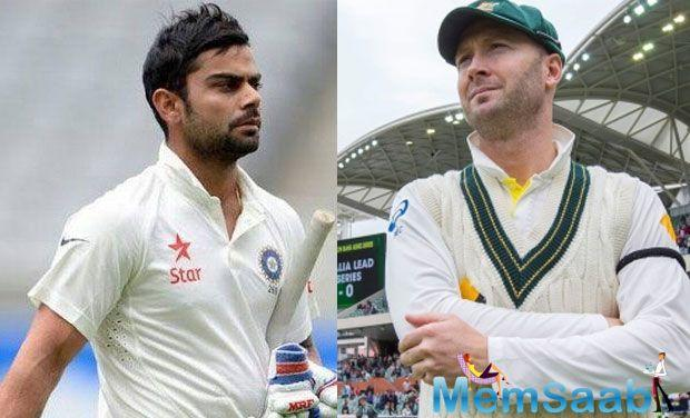 Team India captain Virat Kohli has the 'Kangaroo' spirit inside him, making him quite popular Down Under, believes Michael Clarke.
