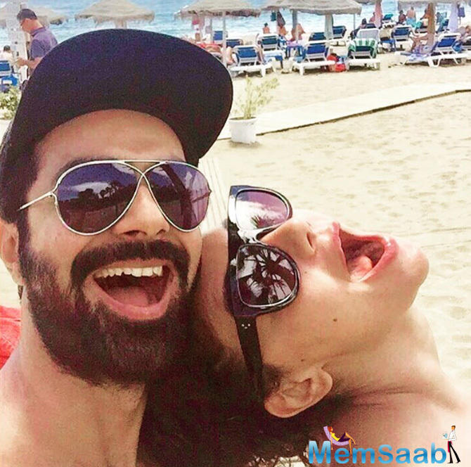 Bollywood actor Ashmit Patel surprised Maheck Chahal, his girlfriend of more than 10 years, by popping the question during their recent European vacation.
