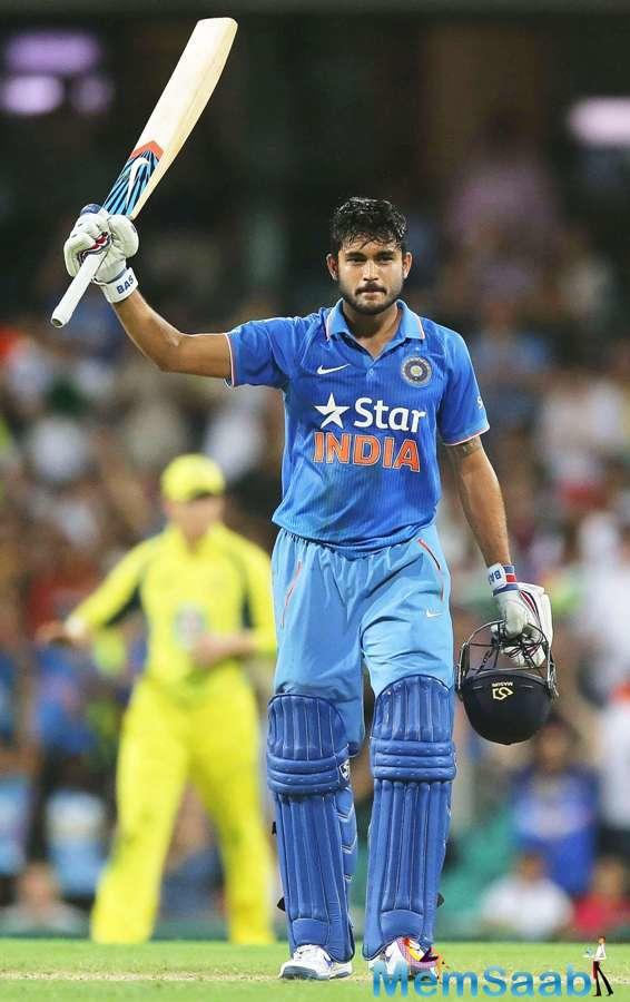 Manish has been part of the selectors' plans throughout and was even named in the 15-member squad for the Champions Trophy in England.