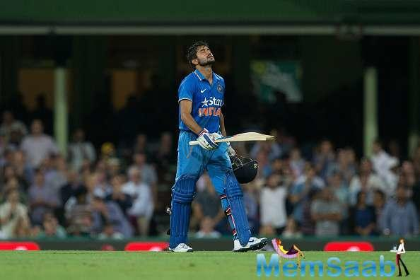 """""""That's where I bat, the middle-order,"""" said Pandey, referring to the No.4 spot."""