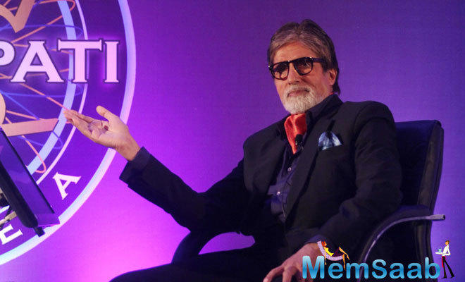 "Speaking at the event, Amitabh Bachchan said, ""Kaun Banega Crorepati celebrates the dreams and aspirations of the common man and their tryst with knowledge""."