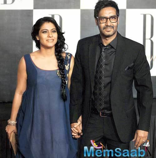 But this doting husband wants to get up on his wife Kajol's latest Tamil film VIP 2 first.