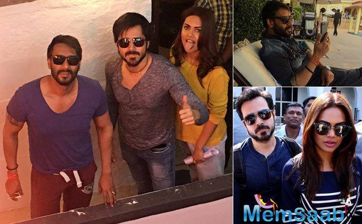 With 'Baadshaho' set to release on September 1 and with back-to-back promotions lined up this week, the squad holds no plans of coming back to the show to shoot the episode either.