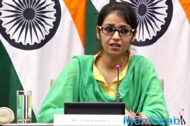 Ahmed says her film will be a tribute to External Affairs Minister, Sushma Swaraj, who facilitated her return to India.