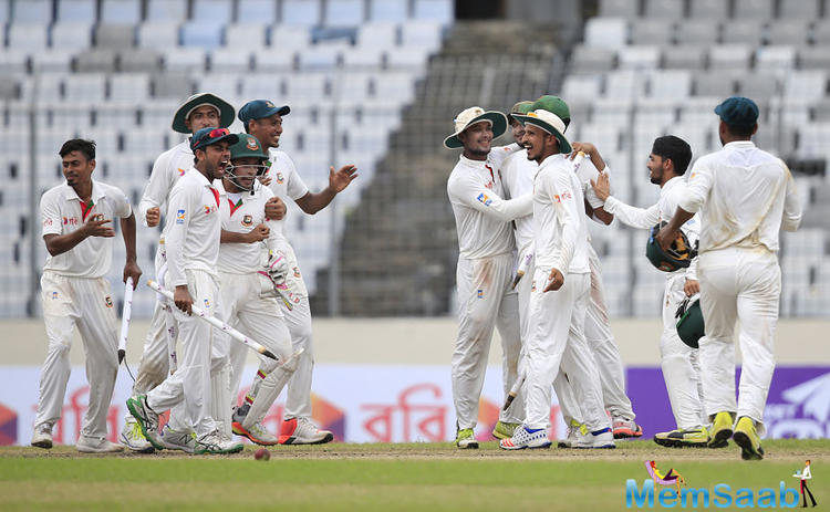 Australia — who are touring Bangladesh for the first time in more than a decade — are currently ranked fourth to Bangladesh's lowly ninth in ICC Test rankings.