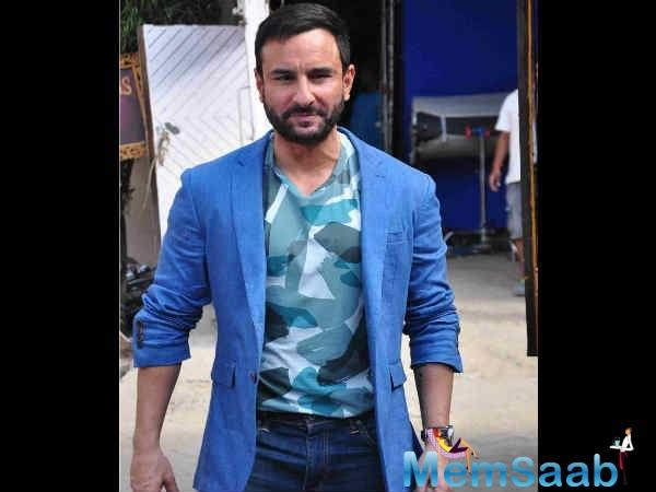 Saif will be seen next in the film 'Chef', an adaptation of the Hollywood movie of the same name.