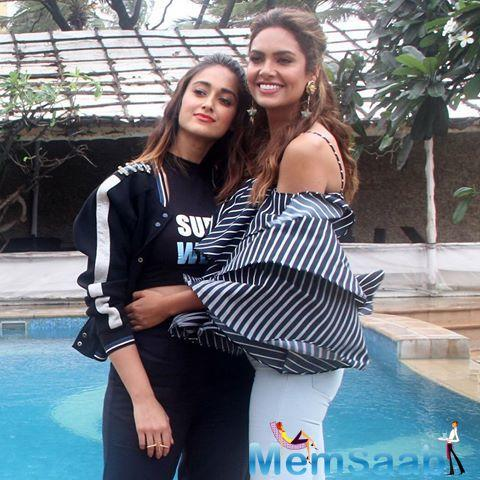 Ileana D'Cruz and Esha Gupta are excited about their upcoming film 'Baadshaho' which is set to release.