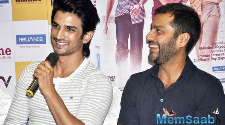 Kapoor had directed Kai Po Che!, and he is kicked about reuniting with Sushant Singh Rajput.