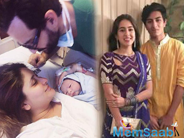 """He said, """"We had lengthy conversations on how Saif became a father at a very young age."""