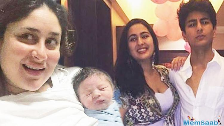 """Raja says, Taimur has helped Saif grow closer to Sara and Ibrahim. """"I think Saif's understanding of his relationship with Sara and Ibrahim has definitely helped explore his relationship with his screen son in Chef."""""""