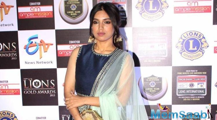 Bhumi Pednekar is already charming all of us away with her old world look since her first film.