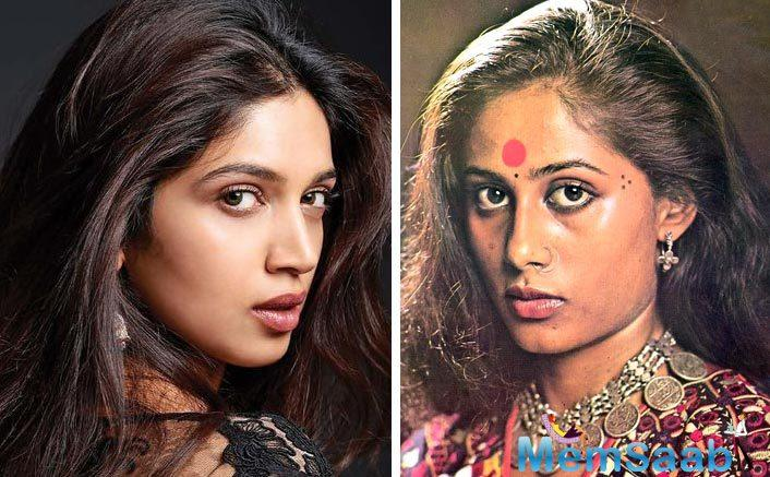 Smita Patil ruled the 70s and 80s as she had a great chemistry with the camera. On the other hand, Bhumi is someone who never makes anyone feel that she is acting – she is as natural as it can get.