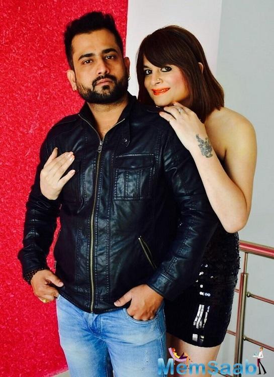 But, her husband, Ramneek Sharma denied the allegations.