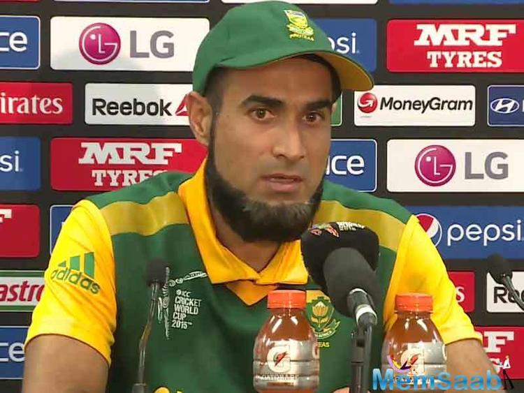 Pakistan-origin-South African Tahir will play for the World XI in a three match T20 series against Pakistan next week. He took to Twitter to share his forgettable experience.