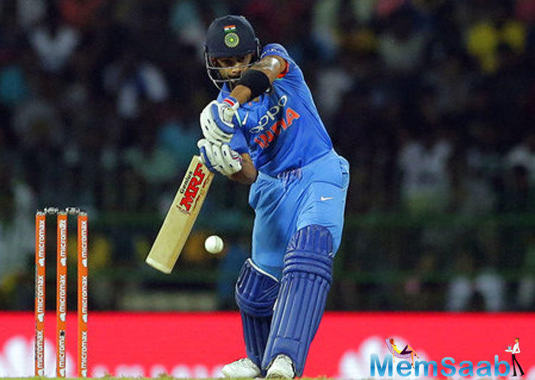 Kohli, who put Sri Lanka in to bat after winning the toss, did not acquire the kickoff that he desire, as Niroshan Dickwella (17) appeared to be aggressive early on.