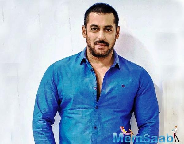 But, it seems like Salman is taking to his onscreen character in real life as well.