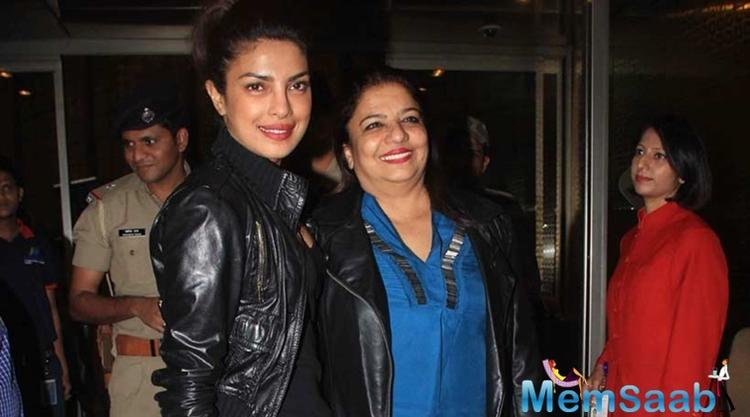 "She continued, "" Priyanka and Bhansali are good friends, they share a warm relationship. They meet whenever she is in Mumbai""."