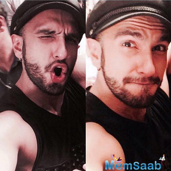 At the event, Ranveer ecstatically exclaimed that he was happy to be in public after so many days.