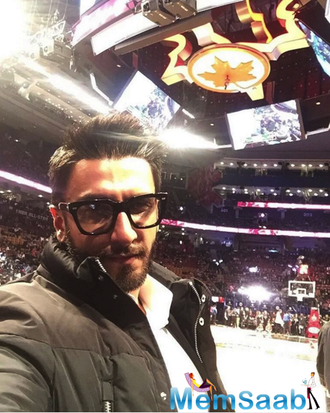 Ranveer Singh is always, making out something different from the other, it is be his look, be dressed up, and be his enchanting behavior.
