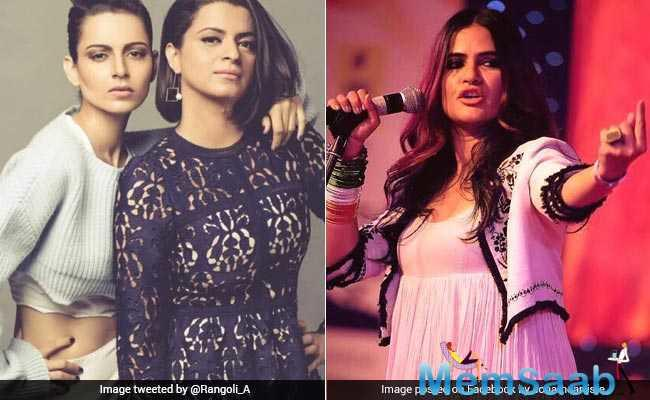 While Kangana hasn't responded to the letter yet, her sister Rangoli, who is active on social media, slammed the singer and called her a