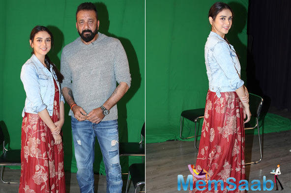 From appearing on reality shows to going on multi-city tours, stars devote as much time to such promotional gigs as they do to the corresponding film's shoot. However, Dutt doesn't belong to that school of thought.