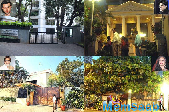 Take a look where our favorite Bollywood stars live