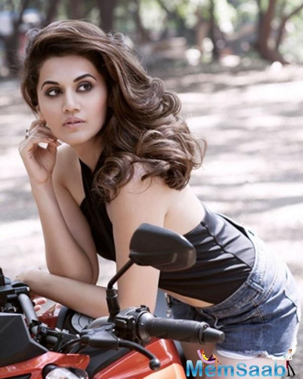 A lot was talked about the female lead of the film and seems like its Taapsee Pannu who is all ready to meet the female protagonist in the movie.