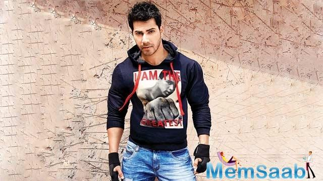 Varun's character is unlike anything he has attempted before. Says the author,