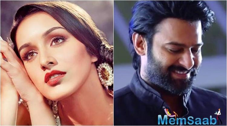 Bollywood diva Shraddha Kapoor, who is awaiting the release of her film 'Haseena Parkar', has kick-started the shoot of her next 'Saaho,' along with Prabhas in Hyderabad.