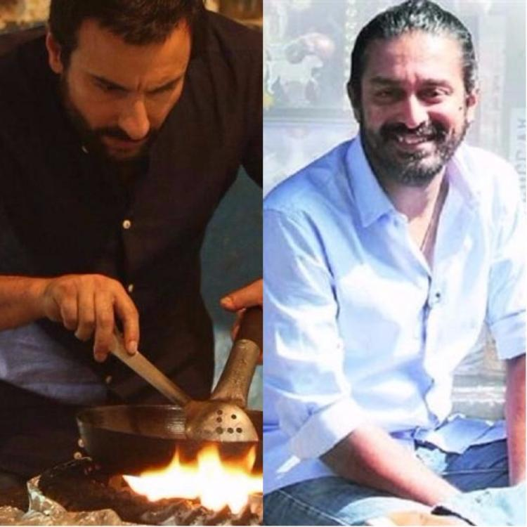 He says he enjoys the simplicity of the look that was finalized for Saif's character. Saif will be seen playing a chef in the film.