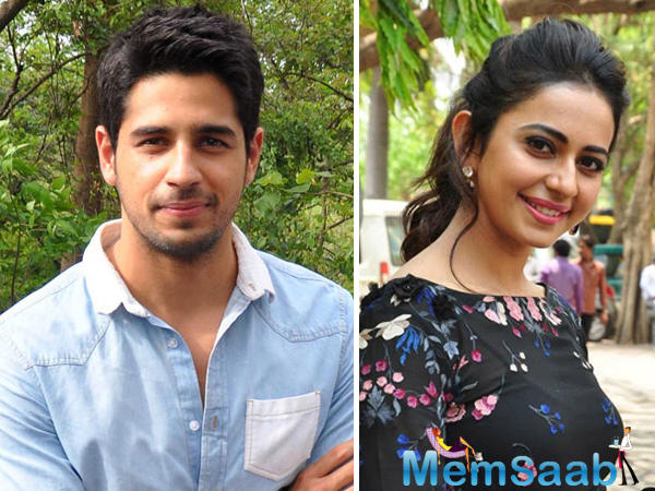 Rakul plays an IT professional in the film while Sid is an army officer.