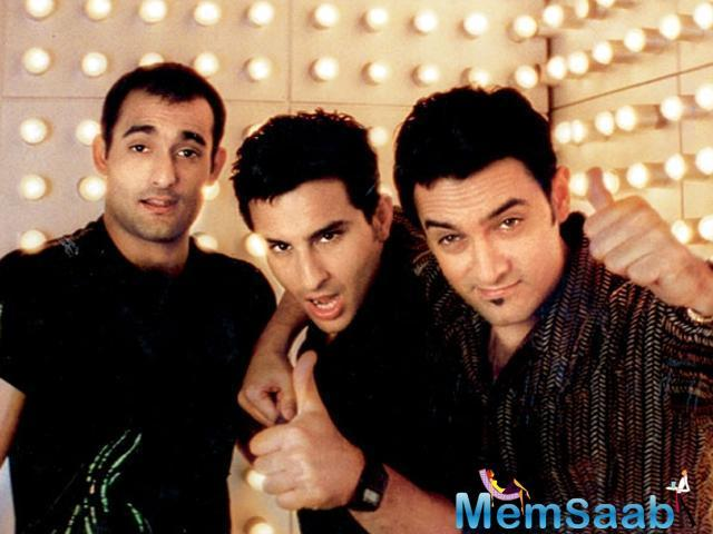 'Dil Chahta Hai' starred Aamir Khan, Saif Ali Khan and Akshaye Khanna in the lead roles as three friends who share a deep bond, but have different approaches towards love and life.