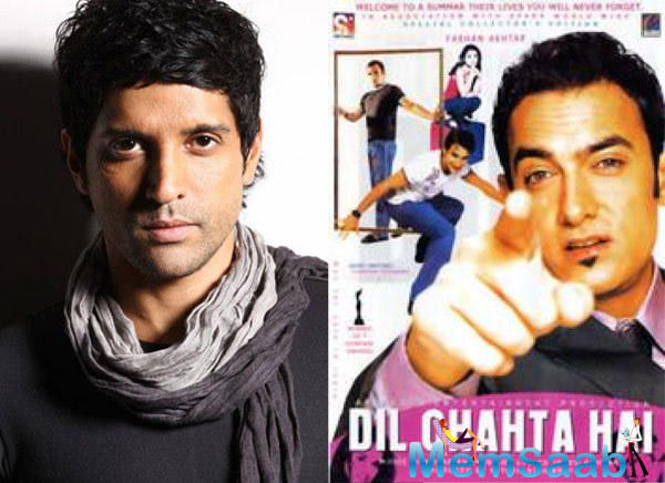 The actor says 'Dil Chahta Hai' is a character-driven film, unlike his other directorial ventures, 'Don' and 'Don 2'.