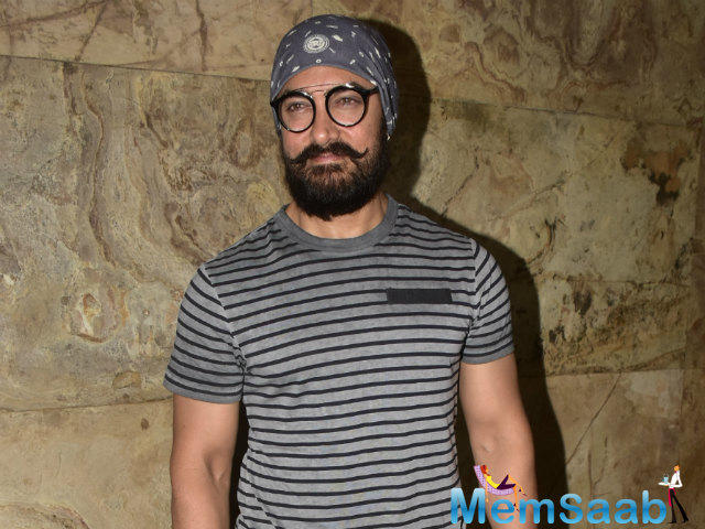 """The filmmaker reveals that his fans have a surprise in store when they will watch Aamir onscreen. He says, """"This tedhapanti suits him. It's the most tedha character Aamir has ever played."""""""