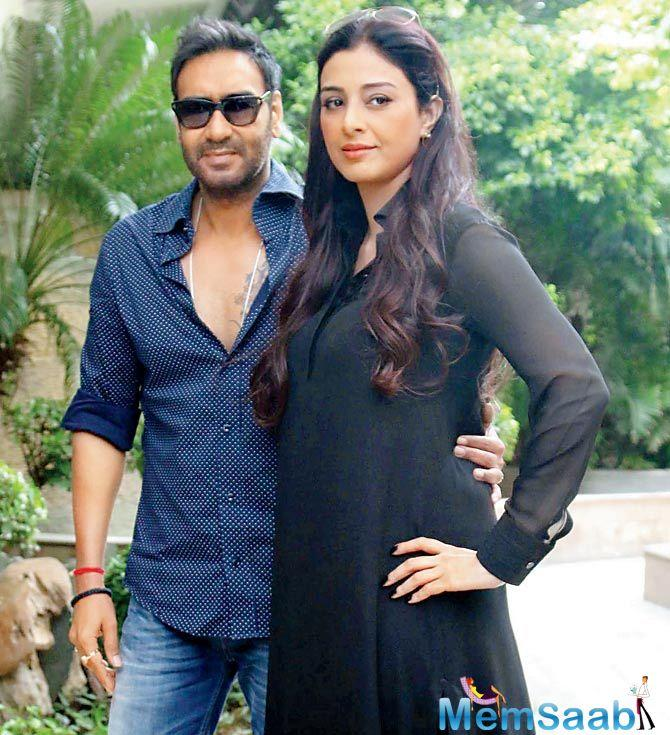 Ajay and Tabu have earlier teamed up for the movies like 'Drishyam', 'Vijaypath' and 'Takshak'. They will as well be sharing the screen in 'Golmaal Returns'.
