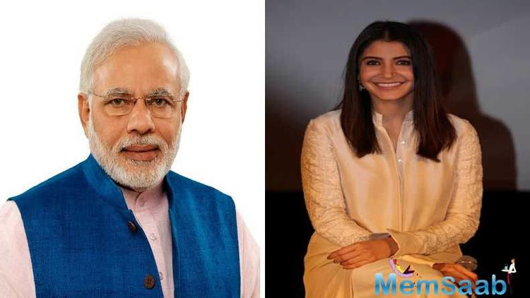 Anushka also shared a letter from the Prime Minister with her followers that read: