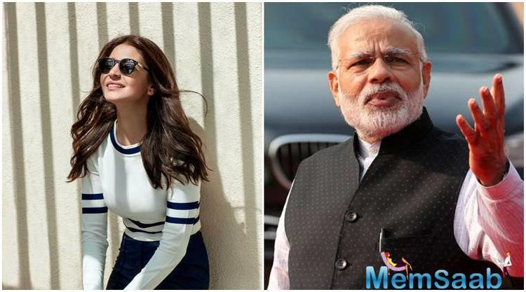 PM Narendra Modi has invited Bollywood diva Anushka Sharma for 'Swachhta Hi Seva' initiative, which he believes, will inspire others to join the movement.