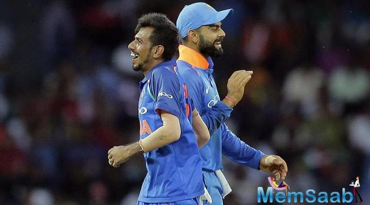 "The 27-year-old from Haryana, said he was confident against Maxwell. ""Mahi bhai and Kohli told me to bowl Maxwell a turning delivery and keep checking his feet."