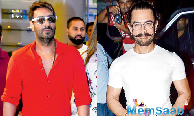 Last Diwali, Ajay Devgn locked horns with Karan Johar as their films Shivaay and Ae Dil Hai Mushkil respectively clashed at the box office.