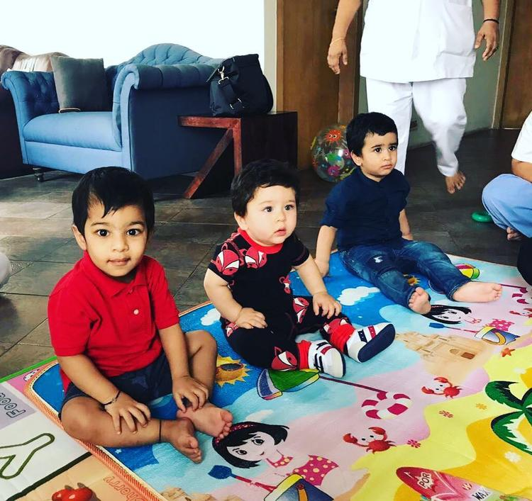 A few days ago, actor Tusshar Kapoor had posted a picture of his son Laksshya with Taimur from a play date.