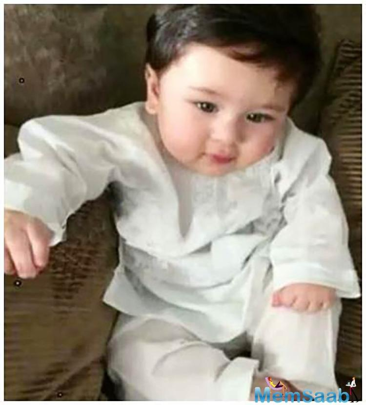 On the special occasion of the beautiful actress Kareena Kapoor Khan's 36th birthday, one of her fan clubs posted a picture of his 'amazing and cutest child' Taimur Ali Khan on Instagram.