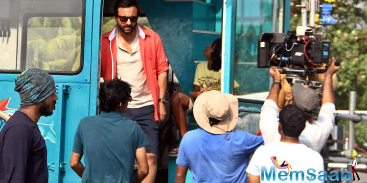 And that is the reason why Saif has asked for changes. This film is directed by Krishna Menon.